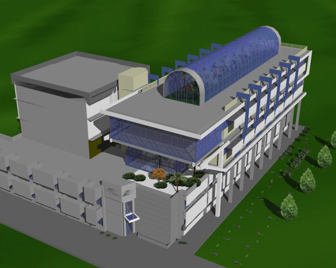 Detail Engineering Desain Penambahan Lantai Gedung SEAMEO TROPMED