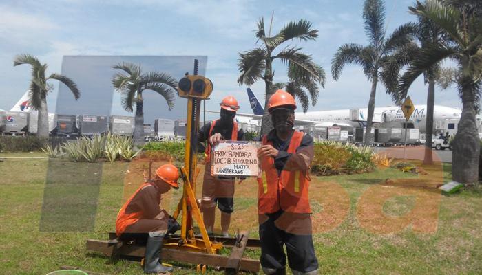 Penyelidikan Tanah Pada Rencana Pengembangan Terminal Ii Bandara Soekarno Hatta 2016 Pt Hesa Laras Cemerlang
