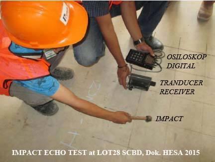Impact Echo Test