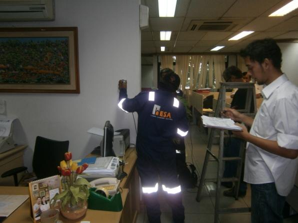 Penyelidikan Struktur gedung BII
