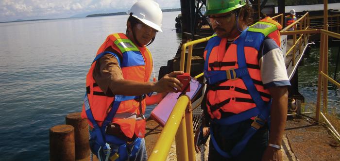 Brinell Test Pada Jetty Pulau sebuku