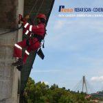 NDT dan LOADING TEST Jembatan II Barelang