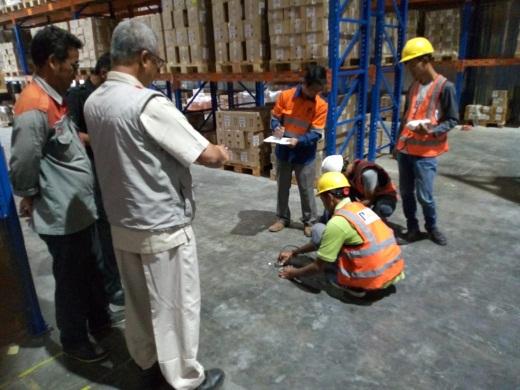 UPVT Bangunan Pabrik - Proyek MMP Warehouse