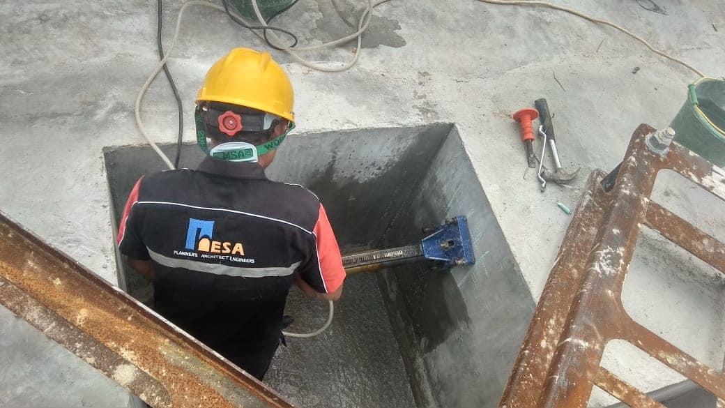 Concrete Core Drilling Ancol Jakarta