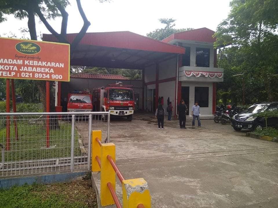 Desain Gedung Damkar PT Jababeka Tbk Cikarang