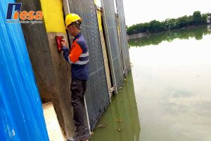 Assesment Struktur Pintu Air Waduk Bojong Jakarta Barat