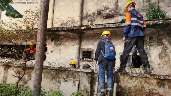 Assessment Struktur Gedung LMAN Medan
