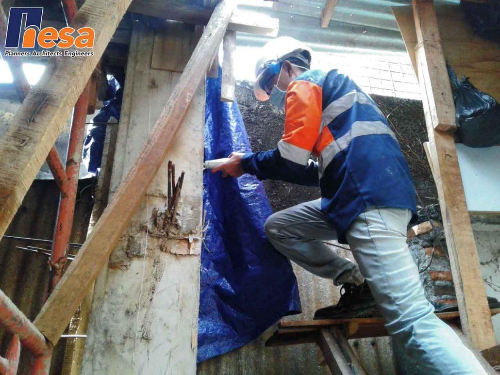 Hammer Test Rumah di Patal Senayan