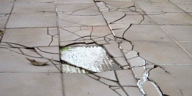 Hasil gambar untuk penurunan lantai rumah pondasi