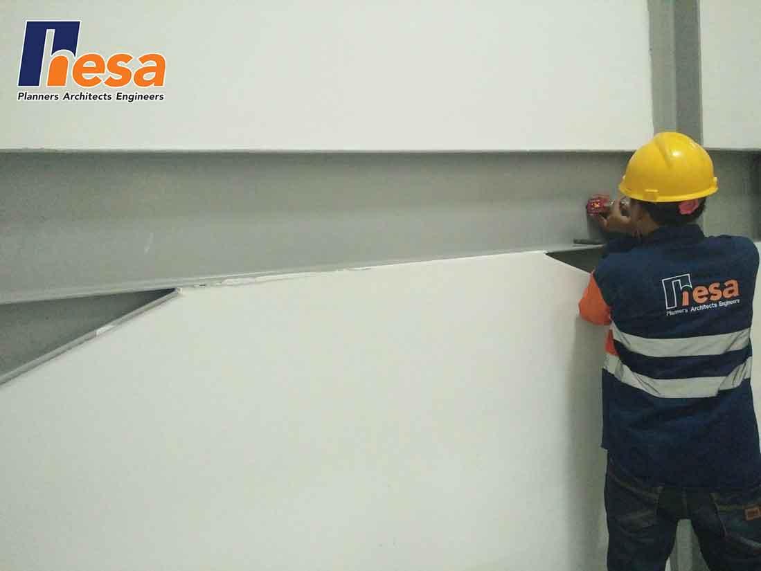 Brinell Test Assessment struktur bangunan gedung GSI Tb Simatupang Jakarta (1)