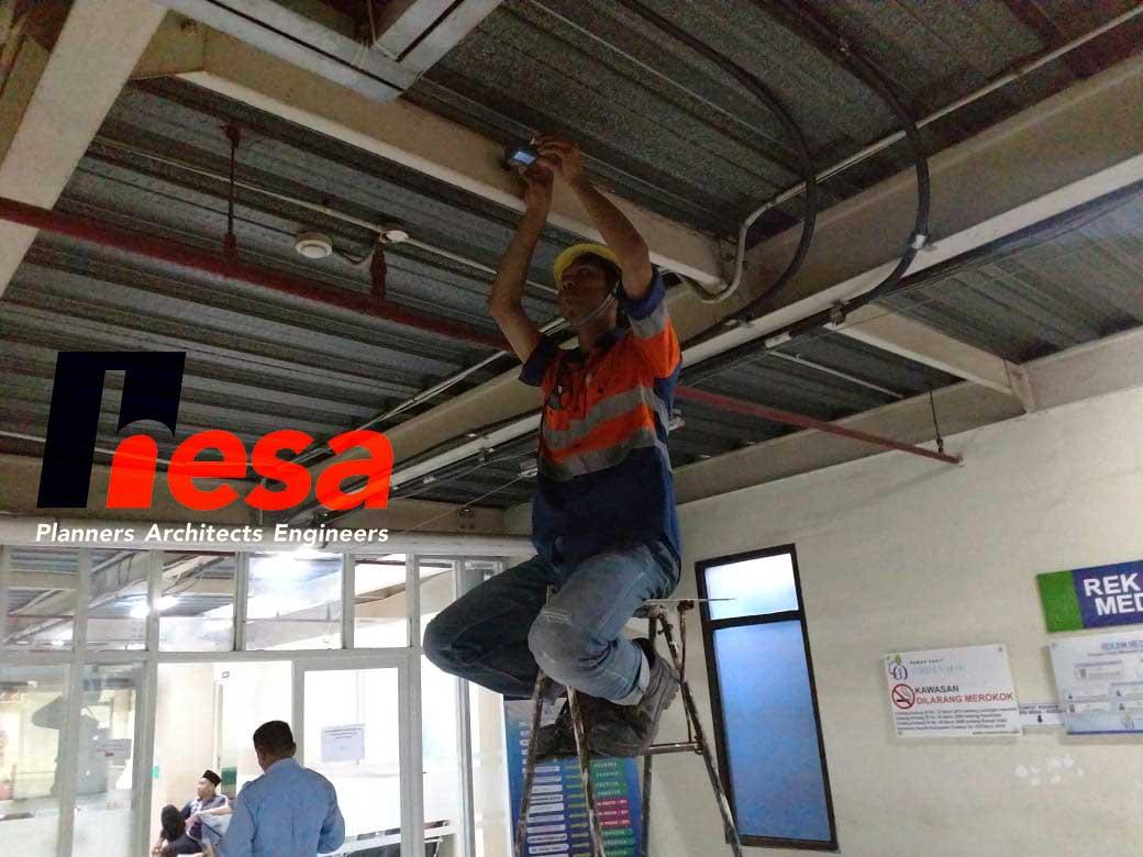 Brinell Test Gedung RS sumber waras Cirebon