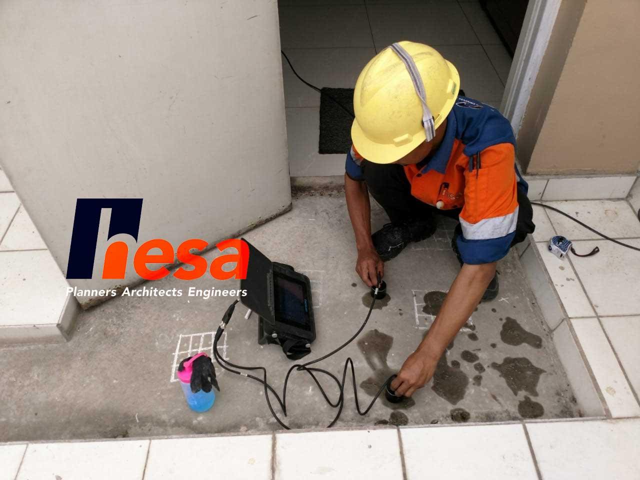 UPV Test Audit Gedung RS sumber waras Cirebon (1)
