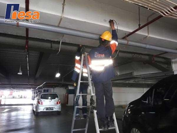 UPV Test di Mall PGC Cililitan Jakarta