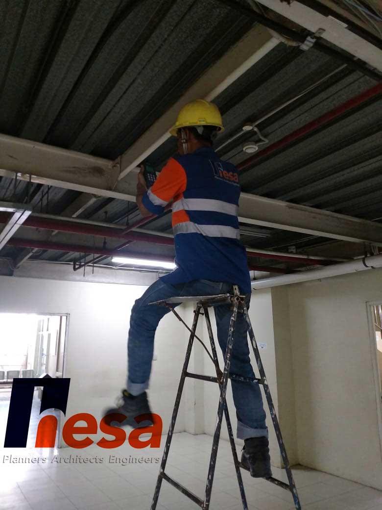 Ultrasonic Thickness Gauge Audit Gedung RS sumber waras Cirebon (1)