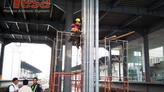 Hammer Test UPVT Hardness Test Stasiun Batu Ceper Duri