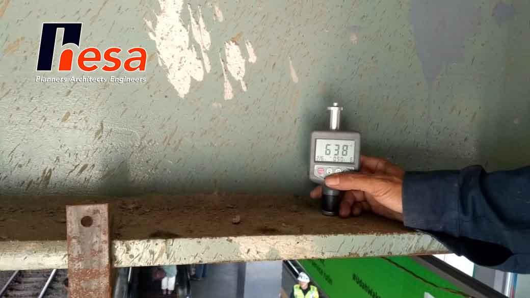 Hardness Test di Stasiun Batu Ceper & Stasiun Dur