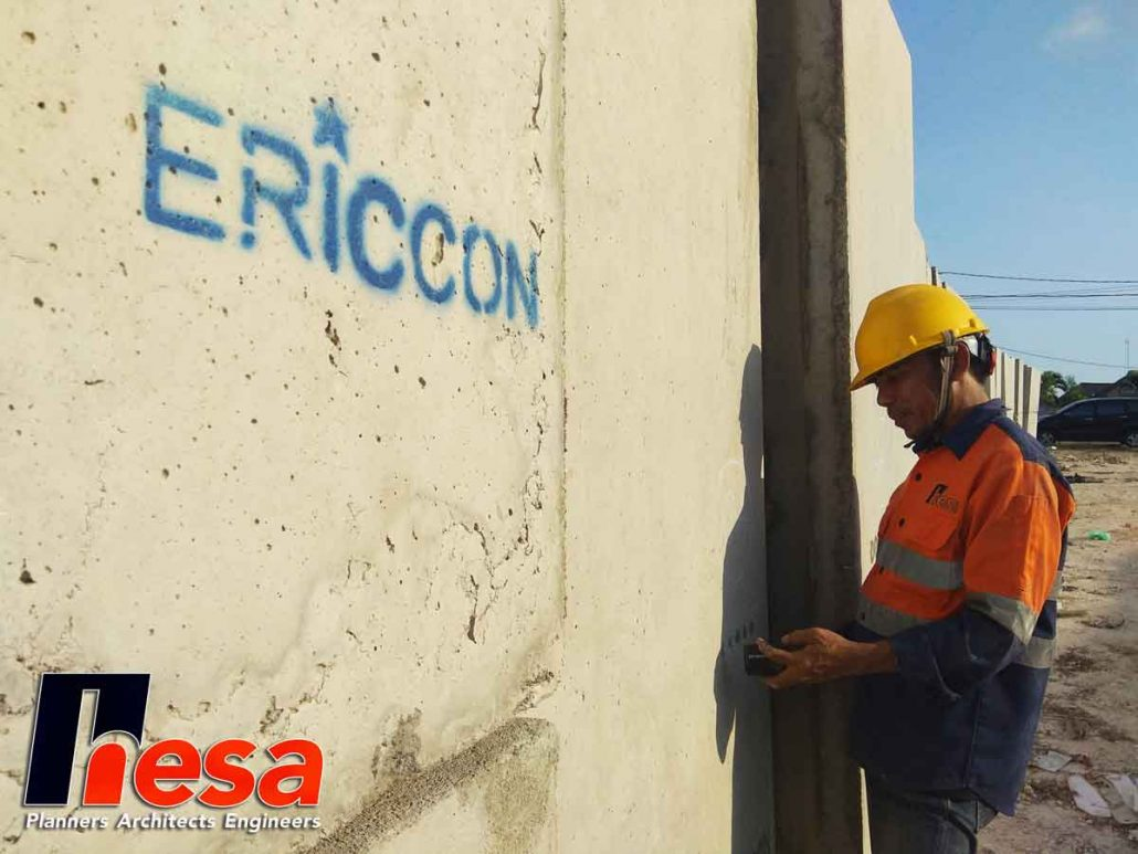 UPV Test Box Culvert PT Ericcon BHG Rekacipta Beton