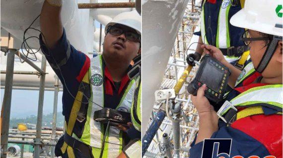 Ultrasonic Pulse Velocity Test Proyek Aeon Mall