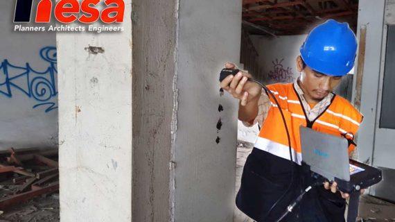 UPV Test Gedung Asset LMAN – Panglima Polim Jakarta