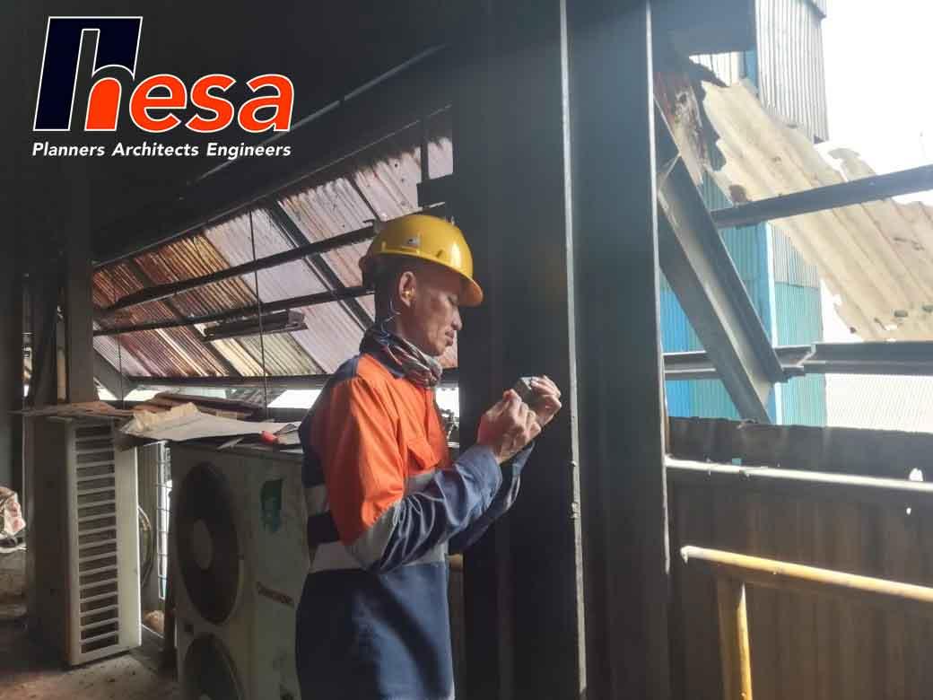 Ultrasonic Thickness Audit Gedung Proses Banten (1)