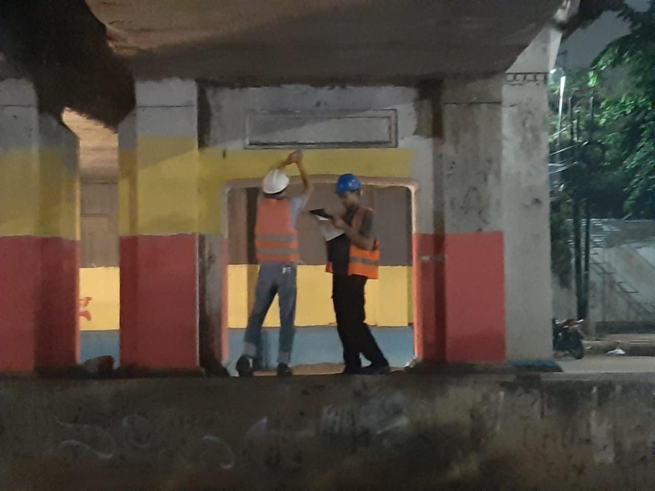 Audit Struktur Jembatan Kereta Api Matraman Jakarta 1