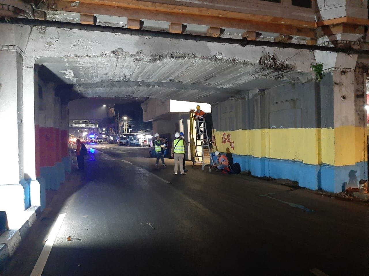 Audit Struktur Jembatan Kereta Api Matraman Jakarta