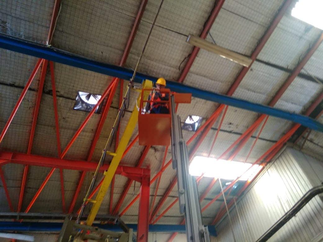 Audit Struktur Lantai Mezanine Pabrik1