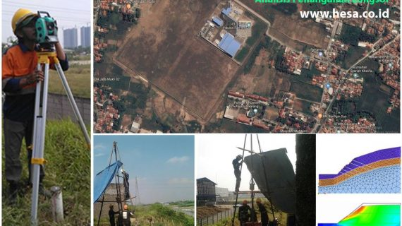 Solusi Penanganan Longsor di Kawasan Jababeka