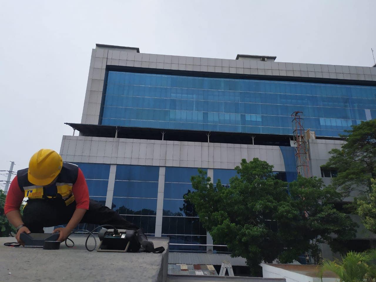 Pemeriksaan Beton Gedung Rumah Sakit Persahabatan Jakarta 1