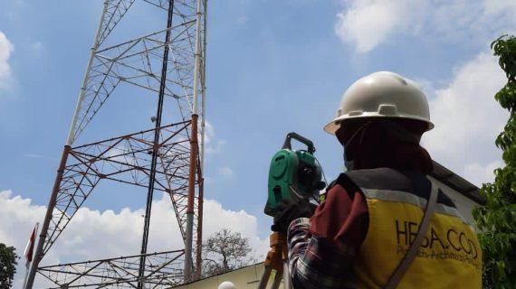 Pengujian Struktur Tower Pemancar TV di Joglo