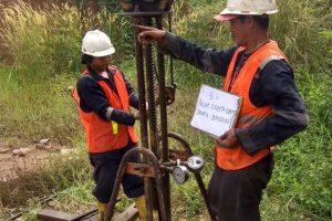 Penyelidikan Tanah Sondir di High Speed Railway