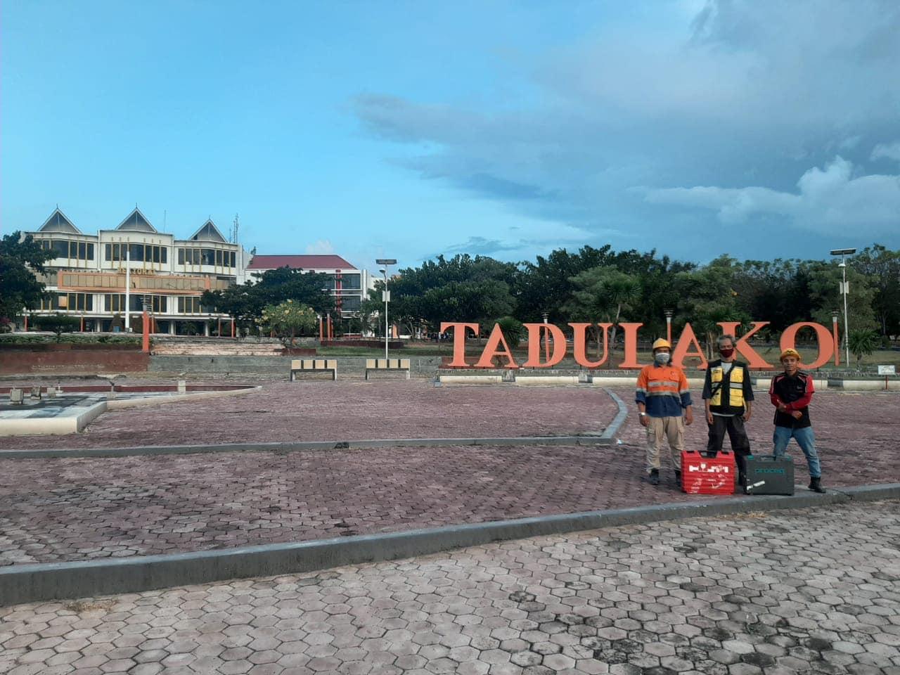 Uji Struktur Bangunan UPVT dan Rebarscan di Palu