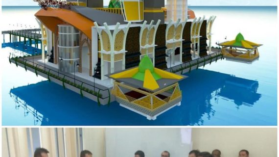 Detail Engineering Design Masjid Apung Pagatan