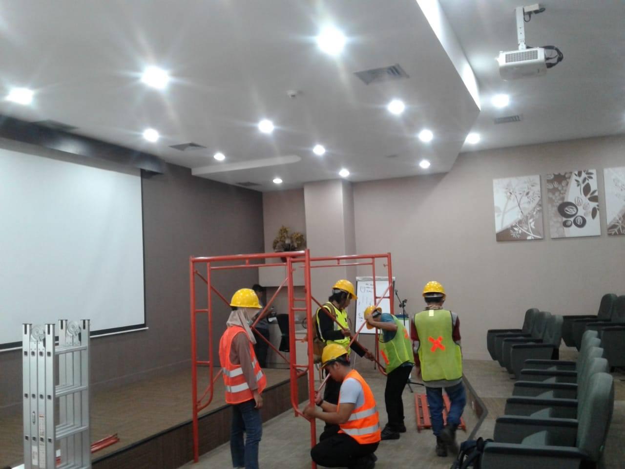 Audit Struktur Bangunan Gedung Riset Indesso Redrawing